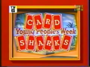 Card Sharks Young People's Week 1988