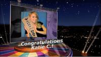 Congratulations Katie C.