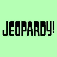 Jeopardy! Logo in Mint Green-4