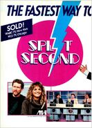 Split Second '87 ad