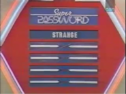 Super Password Strange