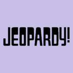 Jeopardy! Logo in Lavender-4