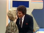 Gloria Kisses Bert