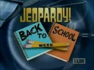 Jeopardy Back to School Week titlecard