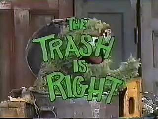 Classic Sesame Street - The Trash is Right!