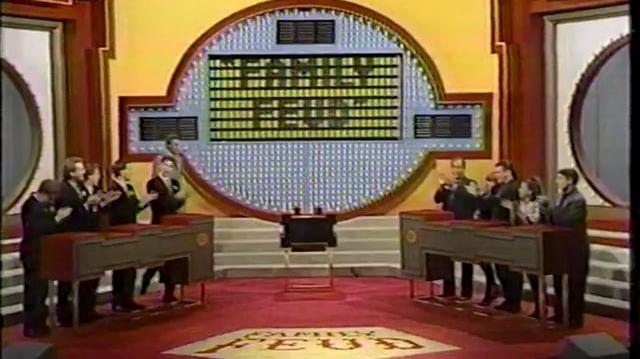 The Tichauers on Family Feud - 1991