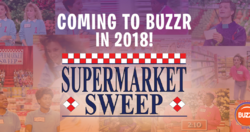 Coming to Buzzr in 2018 Supermarket Sweep