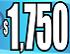 $1750 Cyan