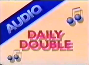 Audio Daily Double blue 4