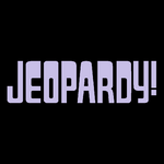 Jeopardy! Logo In Lavender