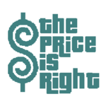 The Price is Right Logo in Teal with White Background