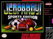 Jeopardy! Sports Edition SNES Video Game