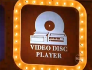 Video Disc Player