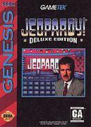 Jeopardy! Deluxe Edition Sega Genesis Video Game