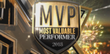 MVP Most Valuable Performer 2018