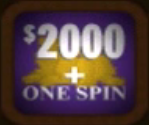 $2000 + One Spin