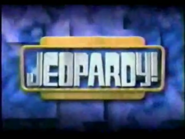 Jeopardy! 2000-2001 season title card screenshot 14