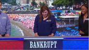 Bankrupt on Podium