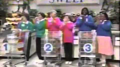 Supermarket Sweep - Richard & Paula vs. Marcia & Debbie vs