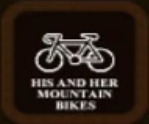 His & Her Mountain Bikes