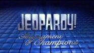 Jeopardy! Season 25 Tournament of Champions Title Card