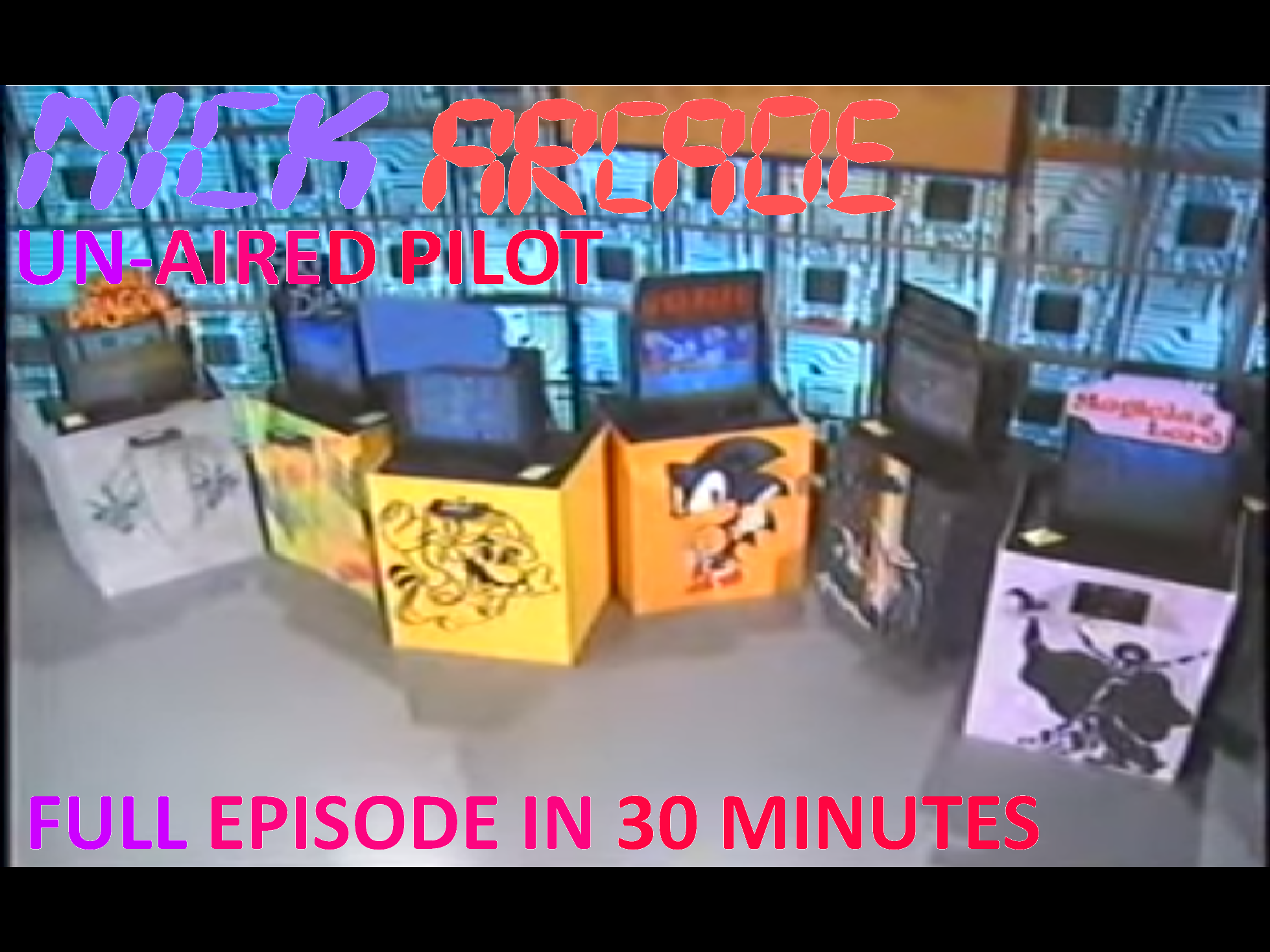 Nickelodeon Arcade (Un-aired Pilot, 1991) - Jody and Meadow vs. Buddy and Keith