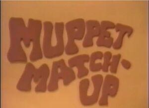 Muppet Match-Up