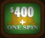$400 + One Spin