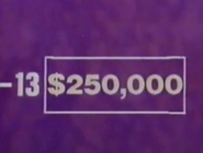 Super Jeopardy! $250,000