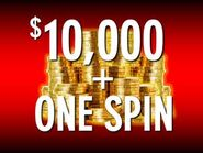 Pyl 2019 present 10 000 one spin space red by dadillstnator ddailqz-250t