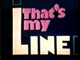 160px-That's My Line
