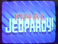 Final Jeopardy! Zig Zag