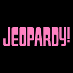 Jeopardy! Logo In Pink