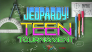 Jeopardy! Season 29 Teen Tournament Title Card