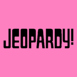 Jeopardy! Logo in Pink-4