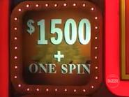 $1500 + One Spin orange