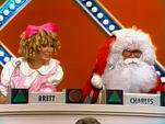 Betsy La Brat and Santa Charles
