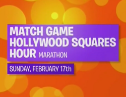 Match Game Hollywood Squares Hour Marathon Sunday February 17 2019
