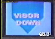 Visor Down