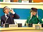 Richard and Betty imtating Brett and Charles