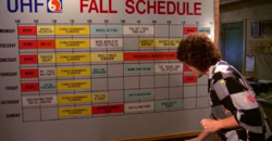UHF Fall Schedule Board