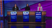 Jeopardy Geico direct sponser podium