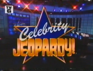 Celebrity Jeopardy! Season 9 1992 Titlecard