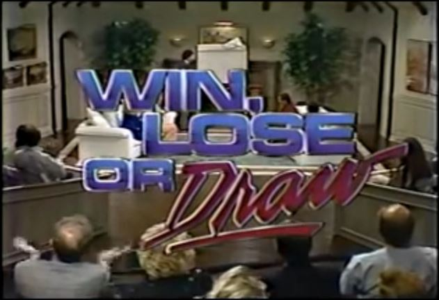 Win Lose Or Draw Game Shows Wiki Fandom Powered By Wikia