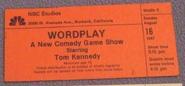 Wordplay (August 16, 1987)