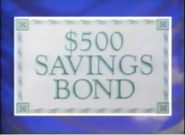 $500 Savings Bond Season 1