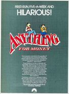 Anything for Money Flyer