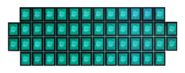 Game grid retro
