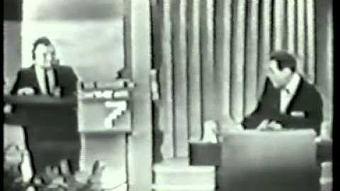 Twenty-One (March 1956) Pilot Episode Marian vs Maurice