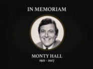 In Memoriam Monty Hall 1921-2017